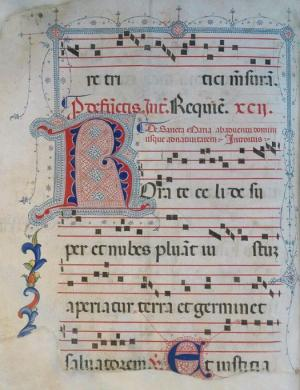 incipit R, in Giampaolo Mele, Die ac Nocte
